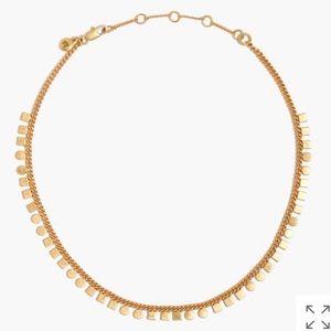 Madewell geochain choker necklace